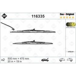 500/475mm, 2 vnt.OPEL Astra F 91 >Astra G  98 >